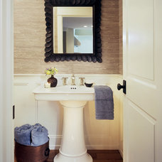 Traditional Powder Room by Atelier Interior Design