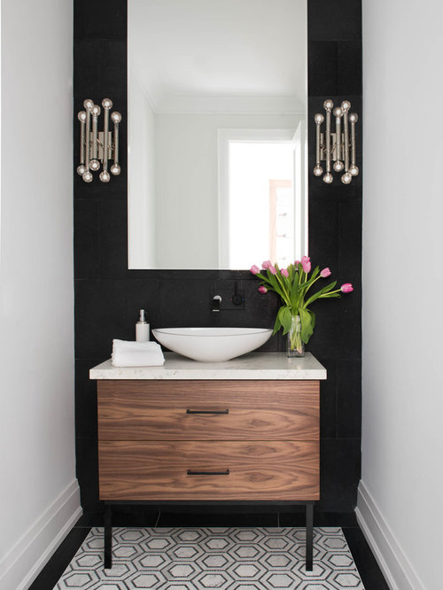 Best powder room design ideas remodel pictures houzz for Powder room layout