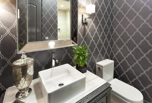 Bagno Di Casa Foto : Case accoglienti il bagno di cortesia piacevole