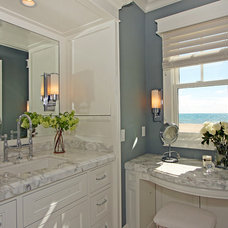 Traditional Powder Room by RS Myers Company