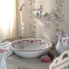 Traditional Bathroom Sinks by Herbeau America / Winckelmans Tiles
