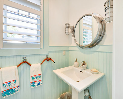 15 Beach Themed Bathroom Design Ideas: Nautical Bathroom Decor