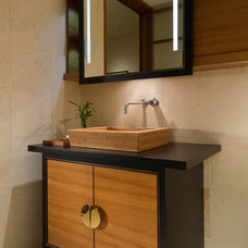 Modern Bathroom by Studio Becker- Bespoke Cabinetry and Millwork