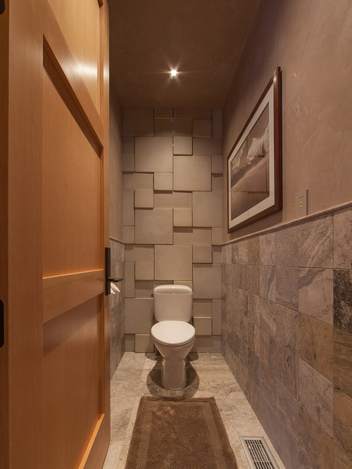Narrow Powder Room Home Design Ideas Pictures Remodel