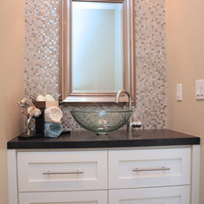 Traditional Powder Room by Urban West
