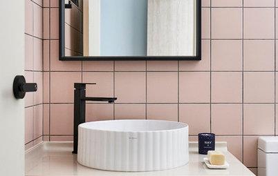 Otänkbar färg i badrummet? Därför ska du välja rosa