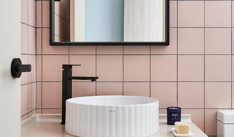 Powder Room Palettes: 10 Pinks That Pop