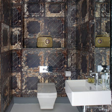 Contemporary Powder Room by Optimise Design