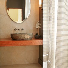 Modern Powder Room by Deep River Partners