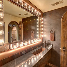 Eclectic Powder Room by Professional Design Consultants