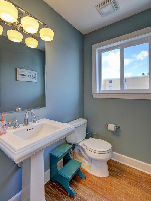 g stetoilette g ste wc mit bambusparkett ideen f r g stebad und g ste wc design. Black Bedroom Furniture Sets. Home Design Ideas