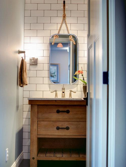 Foto e idee per bagni di servizio bagno di servizio al for Case in stile costiero