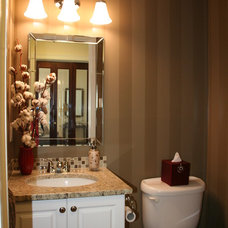 Traditional Powder Room by Personal Touch Interiors