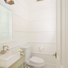 Traditional Powder Room by thea home inc