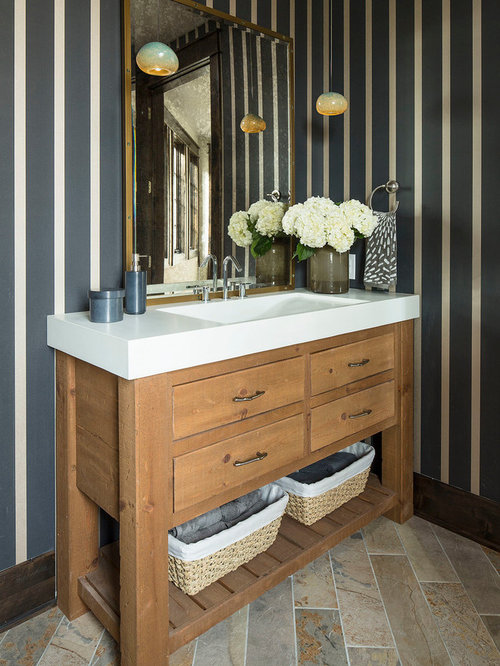Narrow Depth Vanity Home Design Ideas Pictures Remodel