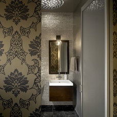 Industrial Bathroom by jamesthomas, LLC