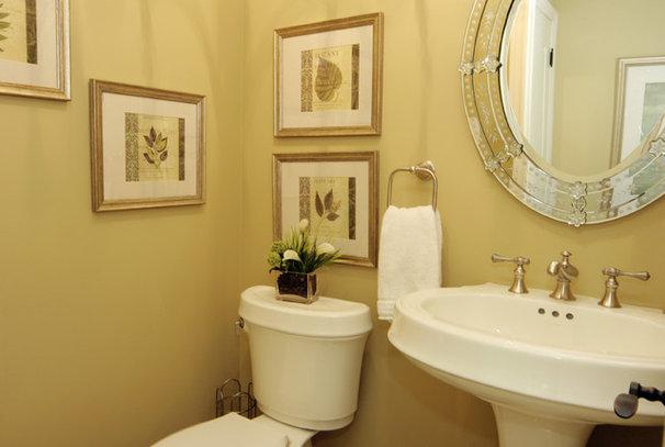 Traditional Bathroom by Jennifer Brouwer (Jennifer Brouwer Design Inc)