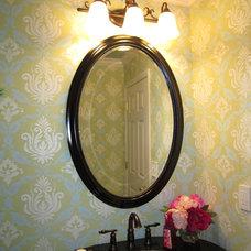 Traditional Powder Room Juawanna Schuller