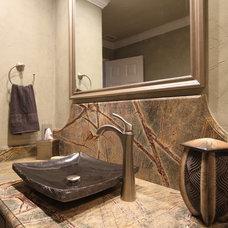 Contemporary Bathroom by KBF Design Gallery