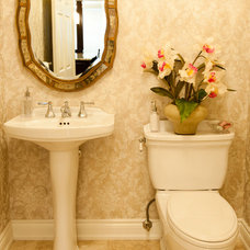 Traditional Powder Room by Stanton Interiors