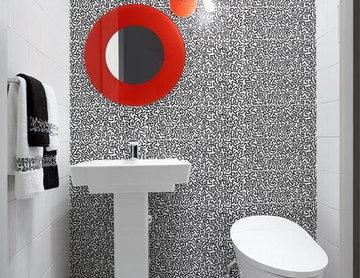 Kips Bay Keith Haring Inspired Bath