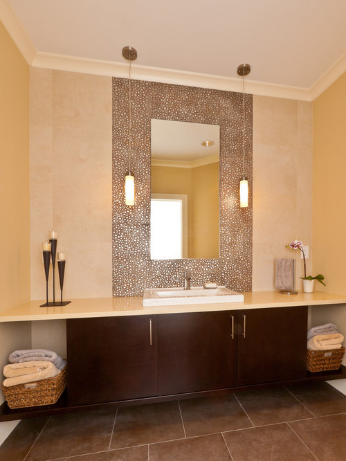 Tile Around Mirror Houzz