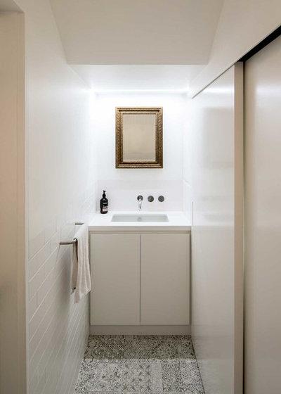 Modern Powder Room by Kreis Grennan Architecture