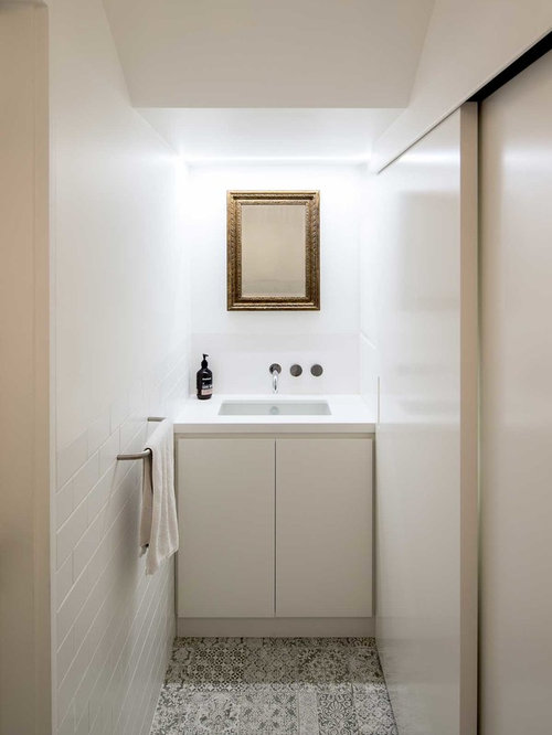 powder room furniture. Powder Room Furniture. Modern In Sydney With Flat-panel Cabinets, White Furniture