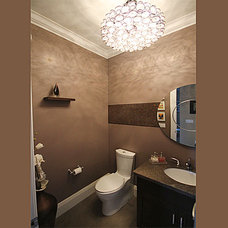 Traditional Powder Room by Simple Solutions Renovations