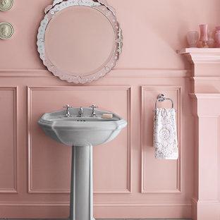 Idéer för shabby chic-inspirerade toaletter