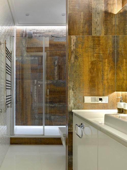 g stetoilette g ste wc mit mineralwerkstoff waschtisch und einbauwaschbecken ideen f r. Black Bedroom Furniture Sets. Home Design Ideas