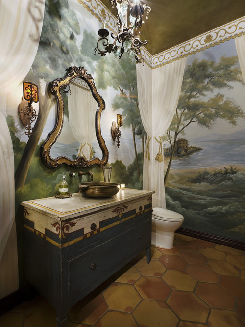 SaveEmail. Houzz   Bathroom Mural Design Ideas   Remodel Pictures