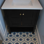 Recent Work Transitional Powder Room San Francisco
