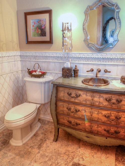 Foto e idee per bagni di servizio bagno di servizio for Bagno in stile mediterraneo