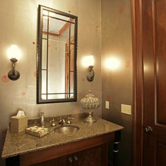 traditional powder room by Laurie Kertis, Ltd., Interior Design