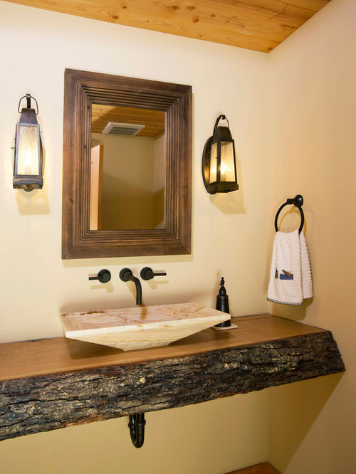 Rustic Wood Countertop Houzz