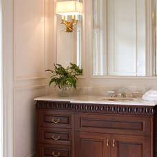 Traditional Powder Room by Home Concepts Canada Interior Design Inc.