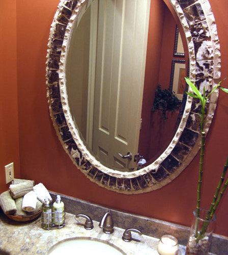 Transitional Powder Room Design Ideas Renovations