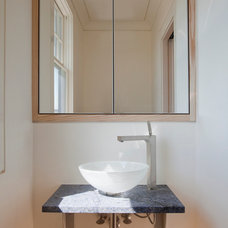 Contemporary Powder Room by Siemasko + Verbridge