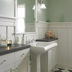 traditional powder room by Goforth Gill Architects