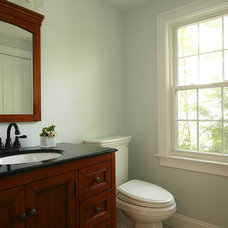 Traditional Powder Room by Marsh & Oldham Homes