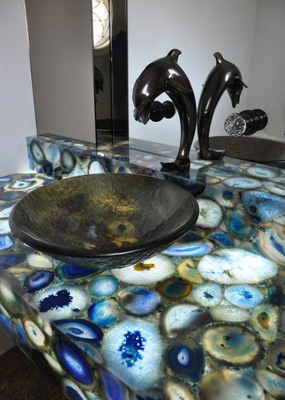 Туалет by Venetian Stone Gallery