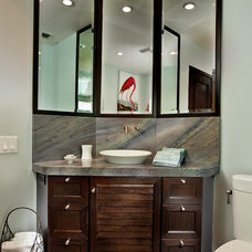 Traditional Powder Room by The Kitchenworks
