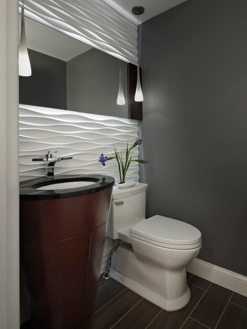 g stetoilette g ste wc mit waschtisch aus granit ideen f r g stebad und g ste wc design houzz. Black Bedroom Furniture Sets. Home Design Ideas
