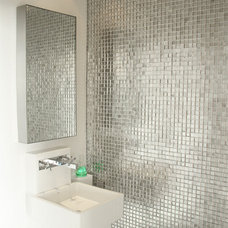 Modern Powder Room by Sylvia Elizondo Interior Design