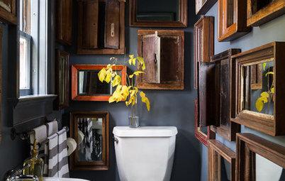 Mehr ist mehr: Warum nur ein Spiegel im Bad, wenn man viele haben kann?