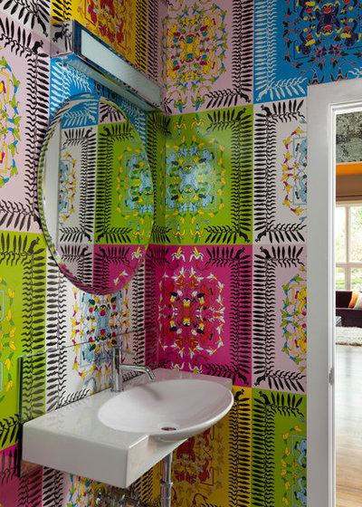 Perch una superficie colorata pu trasformare un piccolo - Il bagno con cui si cambia tinta al tessuto ...
