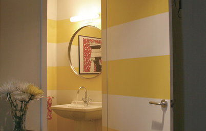 Decorate with Yellow Stripes