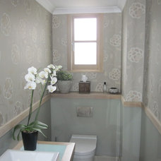 Contemporary Powder Room Lucy in London