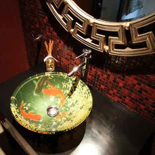 На фото: туалет в восточном стиле с